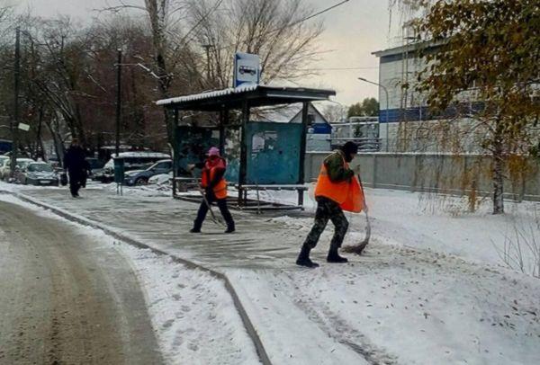 В Самаре за сутки израсходовали 300 тонн реагентов при уборке снега | CityTraffic