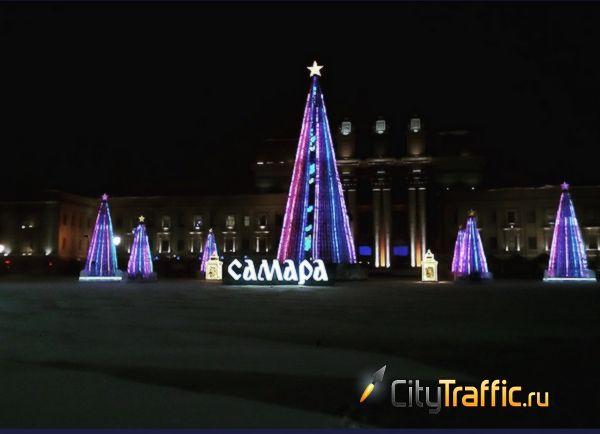 В Самаре на площади Куйбышева к Новому году установят 25-метровую ель   CityTraffic