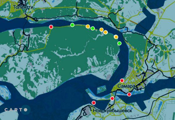 Гринпис составил топ-10 загрязнителей берегов Самарской области | CityTraffic
