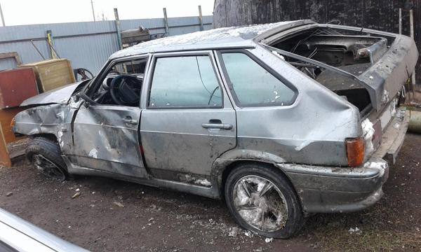 В Самарской области водитель бросил свой перевернутый автомобиль вместе с раненым пассажиром   CityTraffic