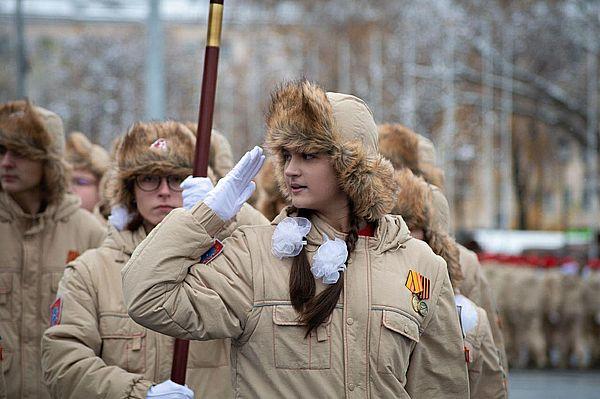 Юнармейцы проведут мини-парады у домов ветеранов в Самарской области | CityTraffic