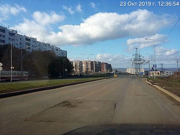 В Самаре подрядчик, строивший трамвайную ветку к стадиону, испортил дорожное полотно | CityTraffic