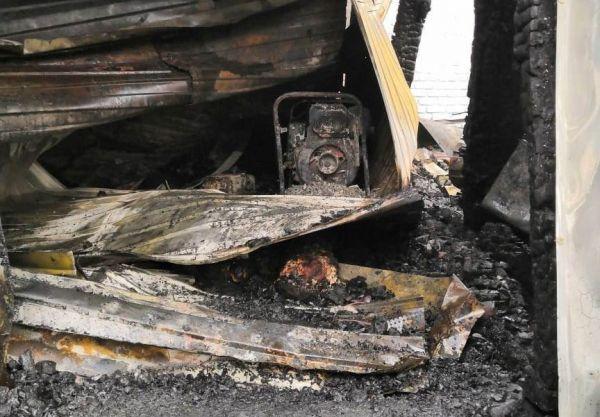На месте пожара на жд станции в Самарской области найден обгоревший труп | CityTraffic