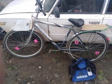 Житель Рождествено угнал чужой велосипед с едой | CityTraffic