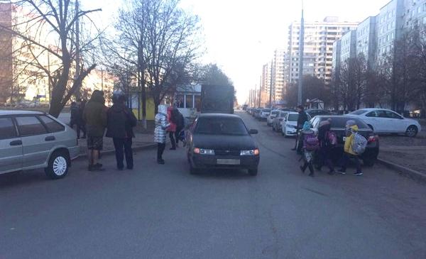 В Тольятти водитель без прав сбил школьницу | CityTraffic
