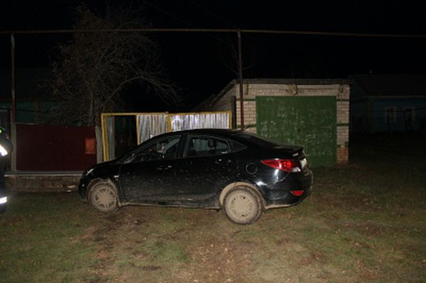 Пьяный житель Самарской области отправился кататься на чужом автомобиле: видео | CityTraffic