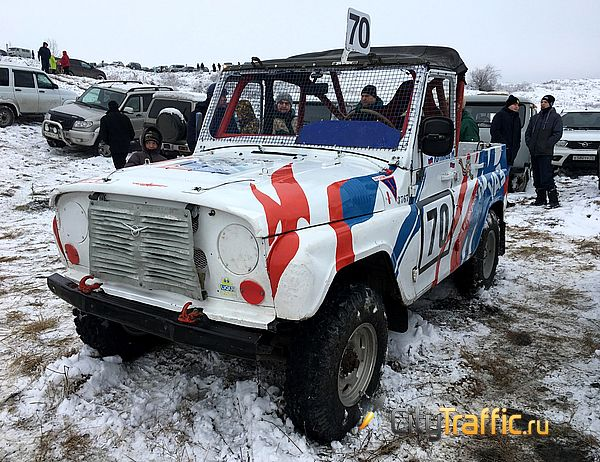 Волжанам не удалось победить в гонке на автомобилях УАЗ | CityTraffic