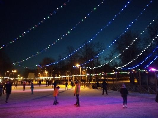 В Самаре посетители парков жалуются на плохой лёд на катках | CityTraffic