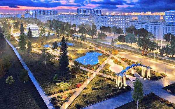 На дополнительное оборудование в сквере к 50-летию АВТОВАЗа потратят 77 млн рублей | CityTraffic