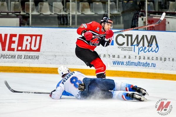 ЦСК ВВС в овертайме проиграл «Металлургу» в Новокузнецке | CityTraffic