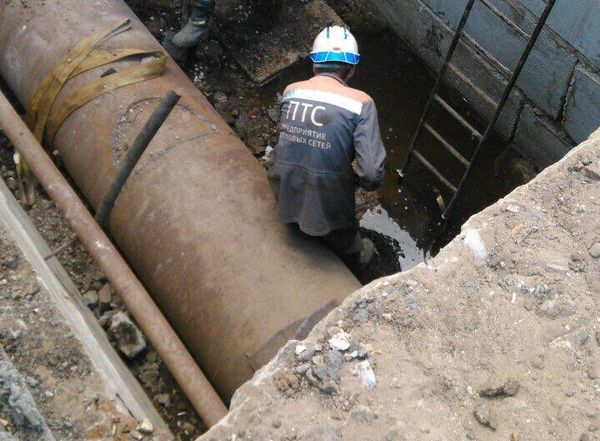 В Самаре 7 домов переводят  на резервную схему отопления из-за утечки на Карла Маркса   CityTraffic