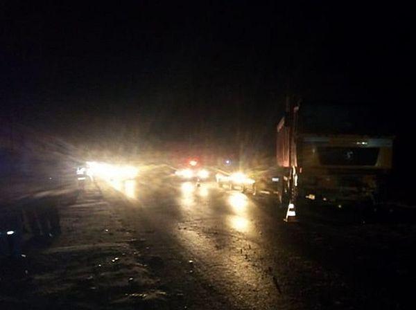 Грузовик устроил аварию с 6 автомобилями под Тольятти | CityTraffic