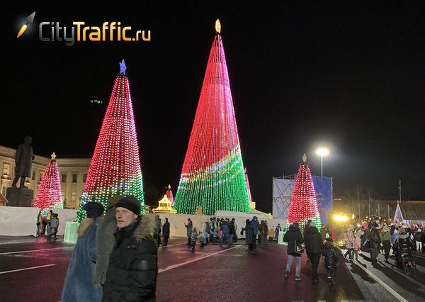В новогоднюю ночь у площади Куйбышева в Самаре ограничат движение транспорта | CityTraffic