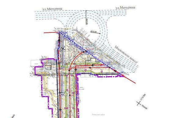В Самаре может появиться кольцевая развязка на улице Мичурина | CityTraffic