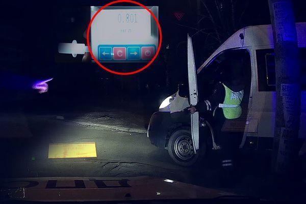 В Тольятти ночью задержан пьяный водитель маршрутки: видео | CityTraffic