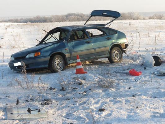 """В Самарской области перевернулась """"четырнадцатая"""", пострадал пассажир"""