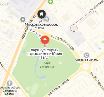 В Самаре к ТЦ «Парк Хаус» хотят возвести пристрой | CityTraffic