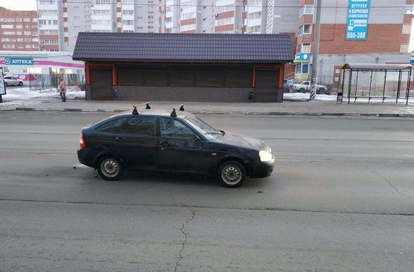 В Тольятти пенсионерка попала под колеса машины, переходя дорогу не в том месте | CityTraffic