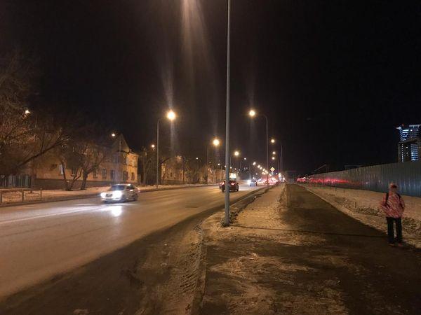 В Самаре на улице Луначарского  зажгли фонари | CityTraffic