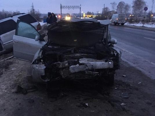 В Самарской области на трассе М-5 водитель «Ауди» неудачно вышел на обгон, пострадали 3 человека | CityTraffic