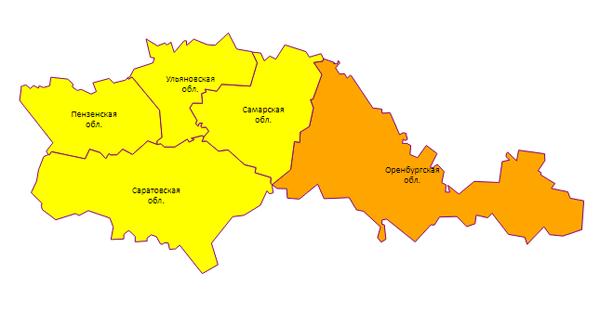 В Самарской области из-за метели вновь объявлен желтый уровень метеоопасности   CityTraffic