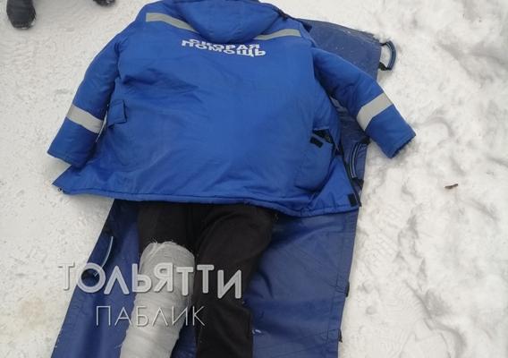 В Тольятти медик «скорой» отдал свою куртку замерзшему пенсионеру, который сломал ногу в лесу | CityTraffic