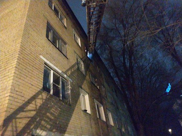 Во время пожара в Сызрани из общежития эвакуировали 92 человека | CityTraffic