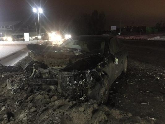 В Самаре водитель без прав в аварии сломал кости таза   CityTraffic