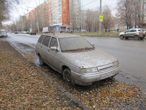 С улиц Кировского района Самары вывезли 59 брошенных  машин | CityTraffic