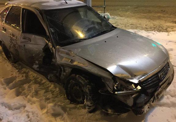 В Самаре две женщины пострадали в аварии за полчаса до Нового года | CityTraffic