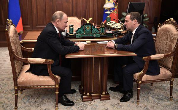 Правительство России ушло в отставку | CityTraffic