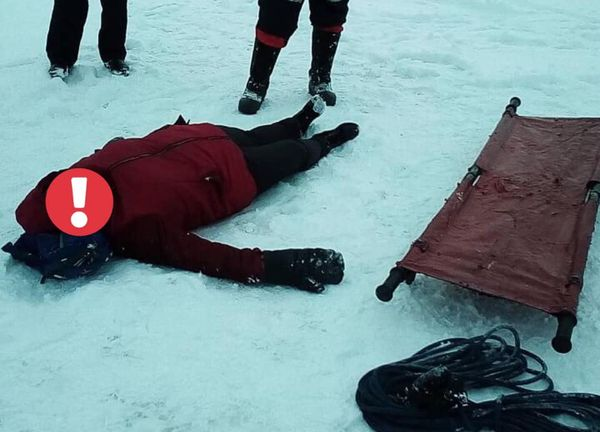 Рыбак из Тольятти нашел на льду реки избитую женщину без сознания | CityTraffic