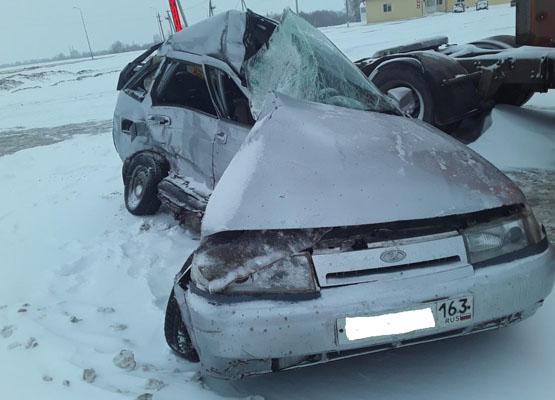 Два ребенка пострадали в аварии на М-5 в Самарской области | CityTraffic