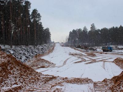В Самарской области почти готова площадка под первую опору моста в районе Климовки | CityTraffic