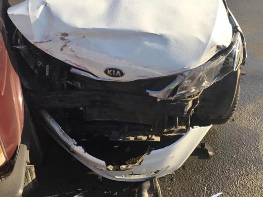 В Самаре на перекрестке не разъехались «Лада 4х4» и «Киа Рио», водителям потребовалась медицинская помощь | CityTraffic