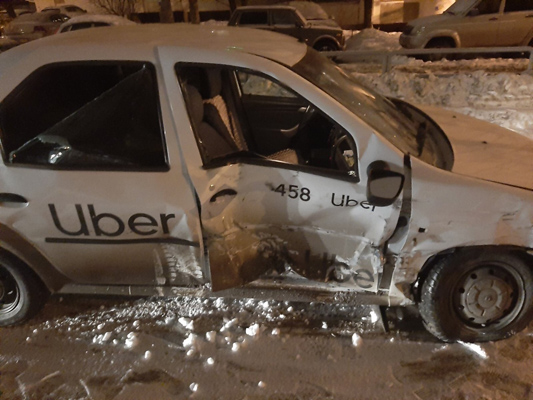 В Самаре 4 пассажира и пьяный водитель попали в больницу после ДТП | CityTraffic