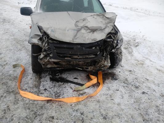 В Самарской области на  М-5 столкнулись две отечественные легковушки, один водитель пострадал   CityTraffic
