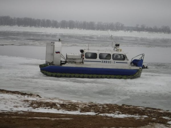 В Самаре загорелось судно на воздушной подушке прямо на маршруте | CityTraffic