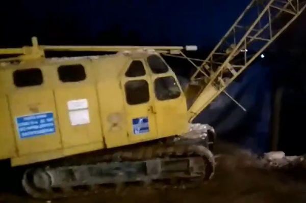 Жители Пятой просеки в Самаре заметили технику на спорном участке, где была остановлена стройка: видео | CityTraffic