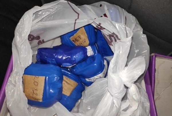 """Два жителя Сызрани задержаны сполкило """"синтетики"""" при выезде из леса"""