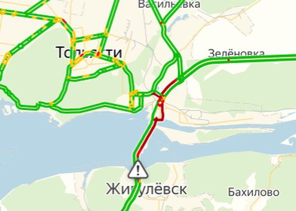 В Тольятти затопило трассу М-5 | CityTraffic