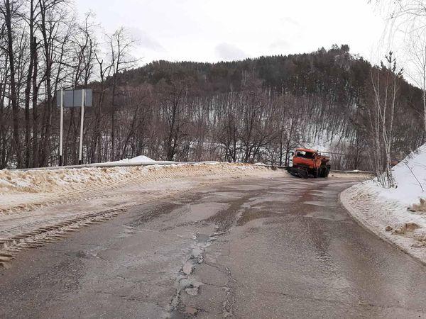 В Самарской области столкнулись 3 грузовика | CityTraffic