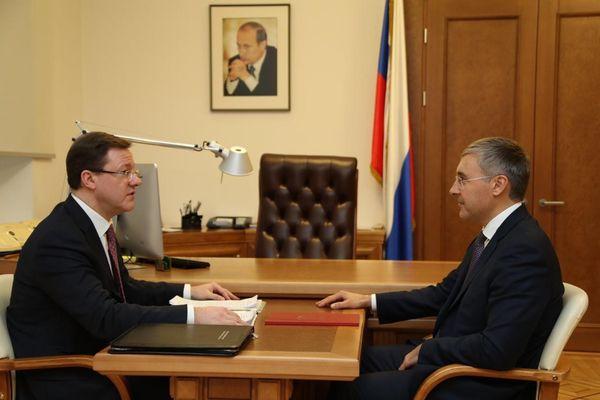 Глава Самарской области обсудил с федеральными министрами готовность региона к реализации задач, поставленных президентом | CityTraffic