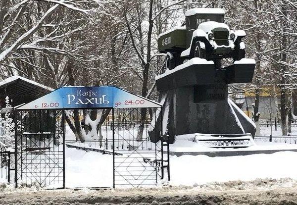 В Самаре нет денег на снос незаконного кафе у памятника погибшим военным шоферам в годы ВОВ | CityTraffic