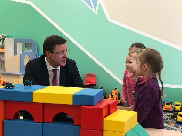 Дмитрий Азаров подарил воспитанникам одного из детсадов Тольятти развивающий конструктор | CityTraffic