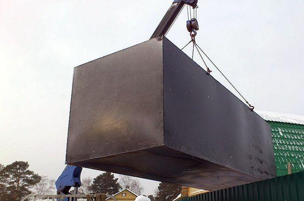 Житель Тольятти украл на стройке контейнер исдал его на металлолом