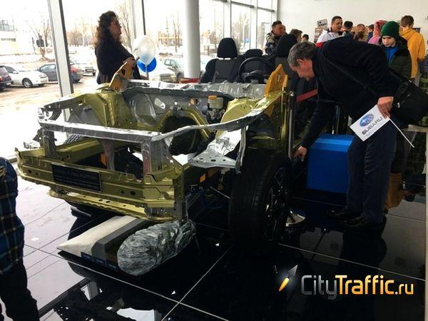 В Тольятти показали платформу, на которой строят автомобили Subaru | CityTraffic