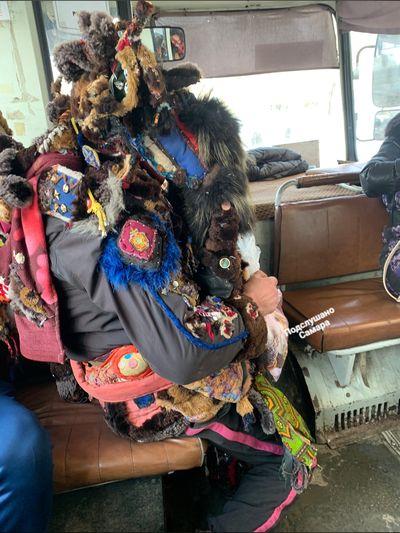 Жители Самары увидели в автобусе Ведьмака 2.0 | CityTraffic