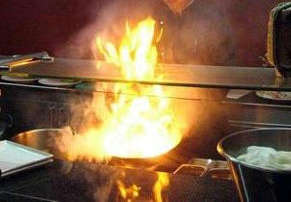 В Самаре горел суши-ресторан   CityTraffic