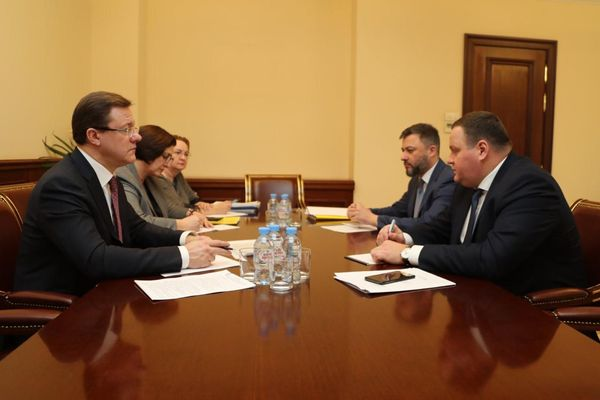 Глава Самарской области обсудил сфедеральными министрами готовность региона креализации задач, поставленных президентом